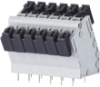 Spring Clamp Solderable Terminal Blocks -- AST186