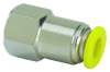 Push-Quick Female Connector -- PQ-FC10Q -- View Larger Image