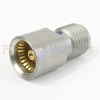 SMA Female (Jack) to BMA Jack (Female) Adapter, Passivated Stainless Steel Body, 1.15 VSWR -- SM3295 - Image