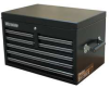Top Tool Chest,26x17-1/2 x17 In,5 Dr,Blk -- 13H116