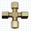 Hydraulic Compression Fitting -- Cross Fittings