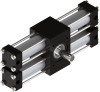Dual Rack Three Position Rotary Actuator -- A32-3P -- View Larger Image
