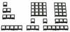 Low Profile Keypads -- 87