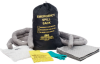 Emergency Spill Sak Portable Spill Kit - Oil Only - Absorbency 10 gal/bale - Kit -- 662706-15201
