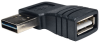 Universal Reversible USB 2.0 Hi-Speed Adapter (Reversible A to Right Angle A M/F) -- UR024-000-RA - Image