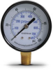 0-100 psi / 0-700 kPa Pressure Gauge with 2.5 inch mechanical dial -- G25-BD100-4LB - Image
