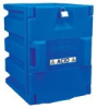 Justrite 24040 Blue Polyethylene Storage Cabinet for -- B61609581