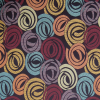 Contemporary Circle Swirl Fabric -- K-Kepler -- View Larger Image
