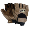 Half-Finger Impact Gloves - Extra Large -- GLV1027XL - Image