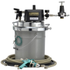 Diaphram Pump Spray Outfit -- DVP pail mounted HVLP outfit - Image
