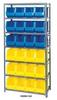 Giant Open Hopper Bin Storage System -- HQSBU-265-B -Image