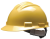 Model S61 Hard Hats > COLOR - Yellow > STYLE - Ratchet > UOM - Each -- 61YLR