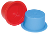 Number Series - Non-Threaded Tapered Dual-Function Plastic Caps and Plugs -- Item # 004A -Image
