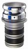 EZ-Seal™ Leak Resistant Couplings - Part E Male Adapter x Hose Shank -Image