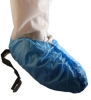 Epic Blue Large Disposable General Shoe Cover - Polyethylene Upper - 73578FS3-L -- 73578FS3-L - Image