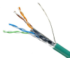 DataMax Patch Mini 6a - 28 AWG, 4 Pair, Sheilded, White LSZH Jacket -- 2278