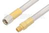 SMA Male to SMA Female Cable 24 Inch Length Using PE-SR401AL Coax , LF Solder -- PE34230LF-24 -Image