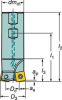Hi Feed-Plunge Mill Cut,RA210-032M32-09M -- 5AWX5 - Image