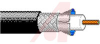 COAXIAL CABLE, 23AWG SOLID, 75 OHM IMP,SUBMINATURE PRECISIONS VIDEO CABLE BLACK -- 70005436