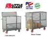 ALL-WELDED MOBILE SECURITY BOX TRUCKS -- HSB-2448-6PY - Image