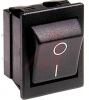 SWITCH,ROCKER, HIGH INRUSH;DPST;ON-OFF,20A,250VAC;0.25 IN. QC;ACTUATOR,BLACK -- 70065600 - Image