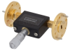 WR-19 Waveguide Continuously Variable Attenuator With Dial 0 to 30 dB Operating from 40 GHz to 60 GHz, UG-383/U-Mod Round Cover Flange -- SMW19AT001-30 - Image