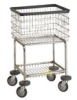 R&B Wire - Deluxe Elevated Laundry Cart -- RBW-300G
