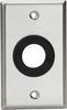 AV Stainless Steel Wallplate, 1