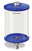 Blue Color Key, Clear View Oil Reservoir, 1/2 gal Acrylic, 1/2