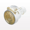 Coupling Body, In-Line Hose Barb with Lock, Straight Thru -- MPCK17006T39 -Image