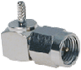 SMA Male Right-angle Connector With RG178 Cable End Crimp -- CONSMA012-R178
