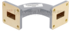 WR-62 Waveguide H-Bend Commercial Grade Using UG-419/U Flange With a 12.4 GHz to 18 GHz Frequency Range -- SMF62HB - Image