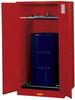 Justrite Sure-Grip EX 55 gal Red Hazardous Material Storage Cabinet - 34 in Width - 65 in Height - Floor Standing - 697841-11466 -- 697841-11466 -Image