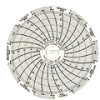 C302 - Chart Paper for Super-Compact Temperature Chart Recorders, -14 to 32F, 7 day -- GO-80011-54