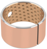 Bimetal Bearing with Steel Backing and Lead Free Bronze Overlay -- GGB-SZ™