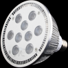 12W Day White Dimmable 45° LED PAR 38 -- 180051