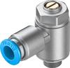 GRLA-1/8-QS-8-MF-D One-way flow control valve -- 537076-Image
