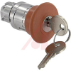 Switch, 22mm, 40 MM E-STOP OPERATOR, UNLIT, KEY RELEASE, RED, TRIGGER ACTION -- 70006985 - Image