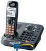 Panasonic DECT 6.0 Expandable Digital Cordless Phone with.. -- KX-TG9341T