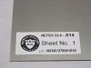 NETIC® S3-6 Stress Annealed Magnetic Shielding Sheet -- NSO14-30-30