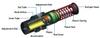 Izmac Absorber Adjustable Heavy Type -- IAAH 42-50 -Image