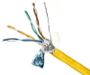 DataMax Patch Cat 5e – 26 AWG, 4 Pair, Shielded, PVC -- 2513