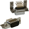 Right Angle HD D-Sub Connectors (0.350