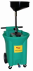 22-Gallon Portable Poly Oil Drain -- JDI-22DCAF