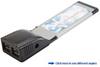 Dual Port FireWire/1394b (FireWire 800) Ex&#8230 -- 1615E
