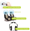 Active Noise Control (ANC) -- Quiet-Bubble?