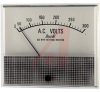 Voltmeter, AC; 0 to 300 V; Polarized-Vane Solenoid; Polystyrene; + 5% -- 70136677 - Image