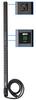 Single-Phase Metered PDU, 2.9kW 30A 120V, 0U Vertical Rackmount, 24 NEMA 5-15/20R Outlets, NEMA L5-30P Input Plug -- PDUMV30