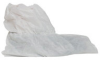 Dupont Surestep PE444S White Large Disposable Cleanroom Boot Cover - 13 in Height - Polypropylene Upper - 15 in Sole Length - PE444SWHLG010000 -- PE444SWHLG010000 - Image