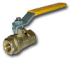 BVGC BSPP FEMALE/FEMALE VALVE WITH LEVER HANDLE -- BVG4-2C